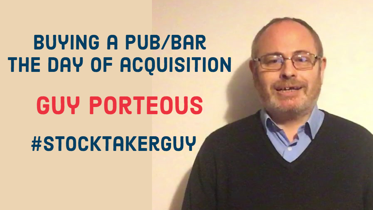 Buying a pub/bar – The day of acquisition