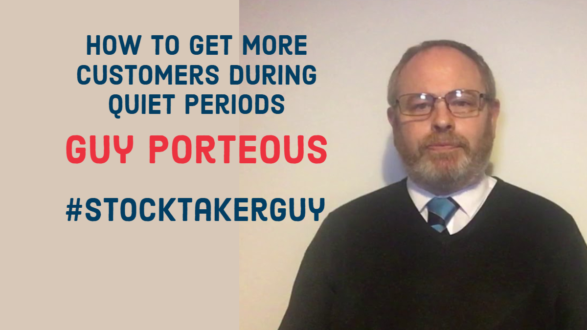 How to get more customers during quiet periods
