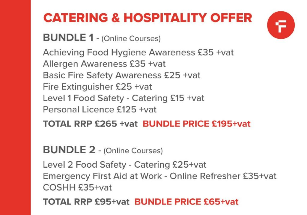 On-Line Training For The Catering & Hospitality Sector