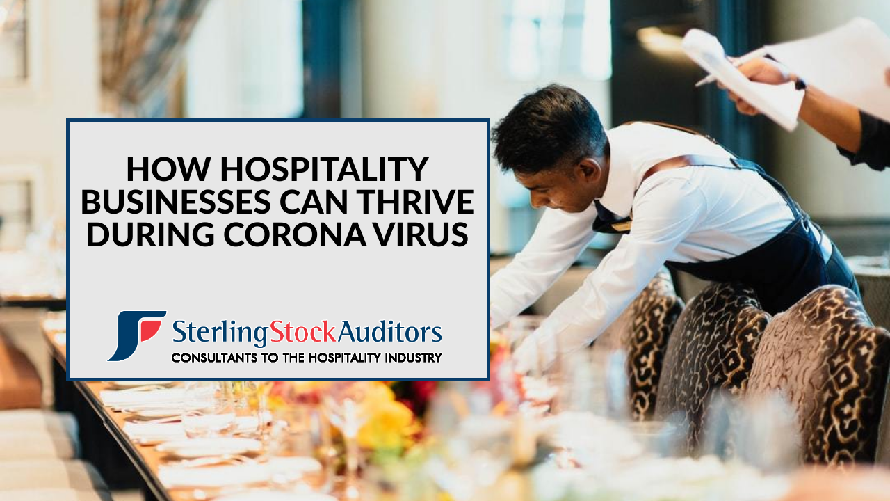 How Hospitality Businesses Can Thrive During Coronavirus