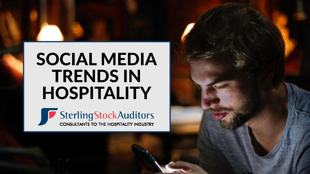 Social Media Trends in Hospitality